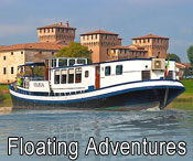 Floating Adventure Travel with Active Journeys - escorted adventure travel or self-guided adventure travel tours and holidays