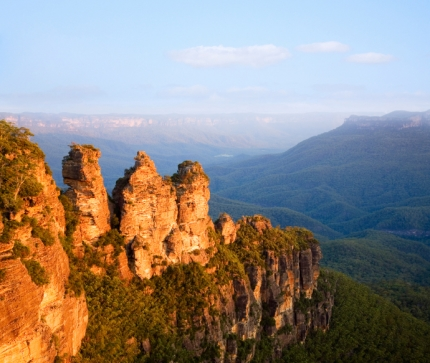 Hike the Blue Mountains in Style with Active Journeys - escorted adventure travel or self-guided adventure travel tours and holidays