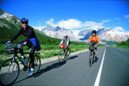 Banff Jasper Icefields Ride with Active Journeys - escorted adventure travel or self-guided adventure travel tours and holidays