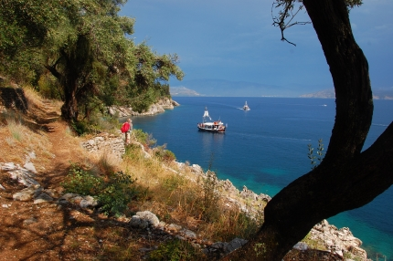 Corfu and Paxos Walking Tour with Active Journeys - escorted adventure travel or self-guided adventure travel tours and holidays