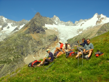 Tour du Mont Blanc with Active Journeys - escorted adventure travel or self-guided adventure travel tours and holidays