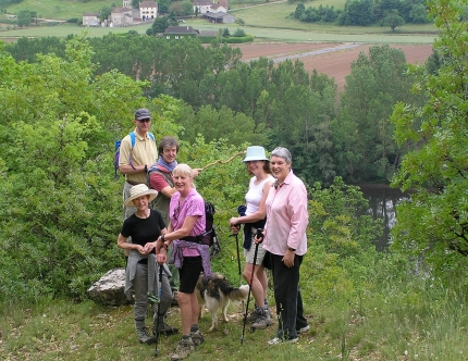 Hiking in Haut Quercy with Active Journeys - escorted adventure travel or self-guided adventure travel tours and holidays